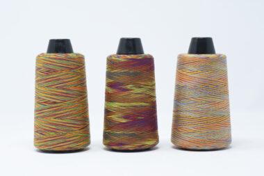 3000m Rainbow Thread Cones