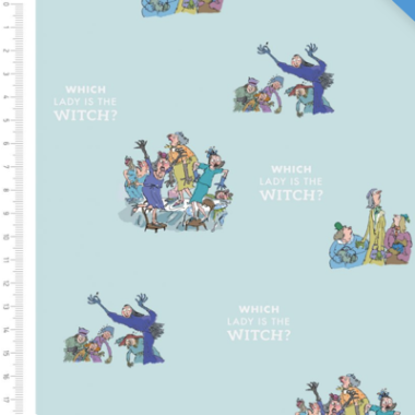 Which Is The Witch Roald Dahl Cotton Fabric