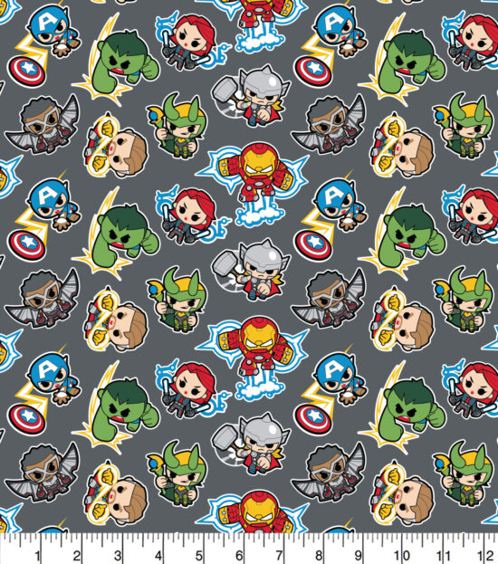 Mini Marvel Cotton Fabric