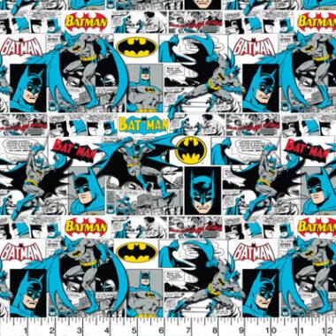 Batman Comic Strip Cotton Fabric