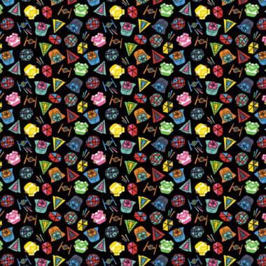 Stars Wars Multi Bright Characters Cotton Fabric