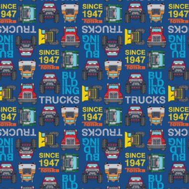 Tonka Trucks Logo Cotton Fabric
