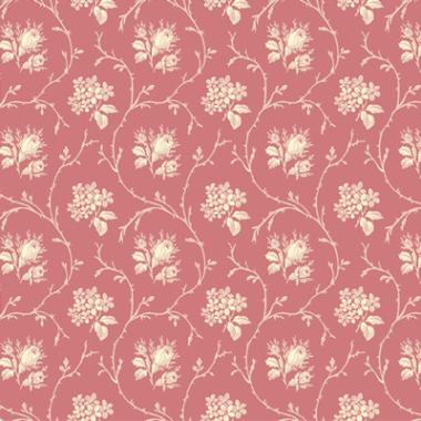 Mayflower Vine Rose Makower Fabric