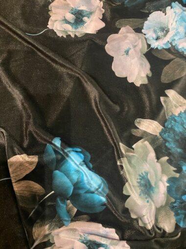 Velvet  John Kaldor Floral  Dress Fabric