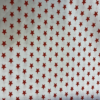 Christmas Star Red Cotton Fabric