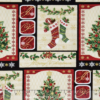 Trim a Tree Holiday Magic Panel Benartex