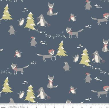 Winter Tales Riley Blake Minki Kim Christmas Fabric