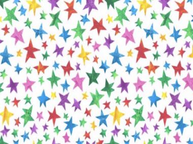 The Very Hungry Caterpillar Stars Fabric