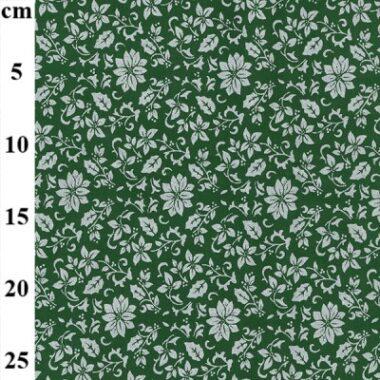 Christmas Metallic Flower John Louden Fabric