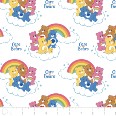 Care Bears Cotton Fabric Camelot