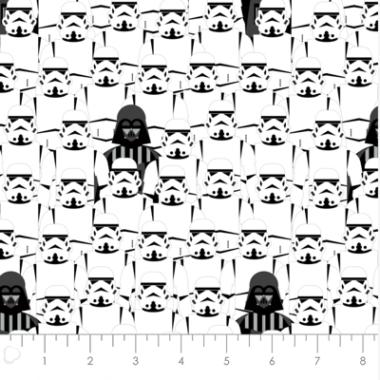 Darth Vader Cotton Fabric Camelot