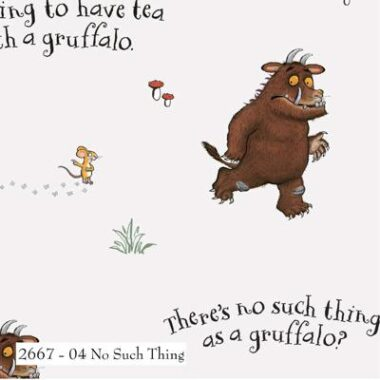 The Gruffalo No Such Thing Cotton Fabric