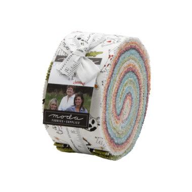 Animal Crackers Jelly Roll Moda Fabric