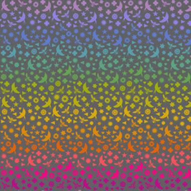 Bird Bee Art Theory Makower Fabric