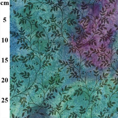 John Louden 13401 50s Cotton Hand Printed Batik Fabric