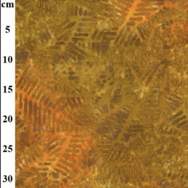 John Louden 013803 50s Cotton Hand Printed Batik Fabric