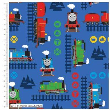 Thomas The Tank Engine Adventure Cotton Fabric