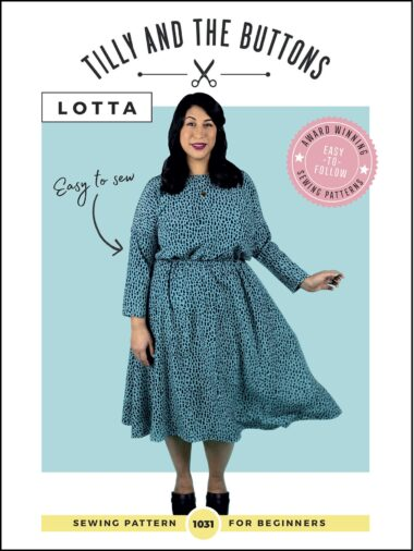 Lotta Tilly and The Buttons Dress Pattern