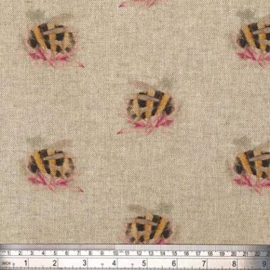 Bombini Digital Linen Canvas Fabric