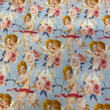 Cupid Digital Printed Cotton Fabric