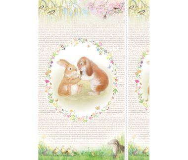 Bundle Of Joy Rabbit Panel Michael Miller