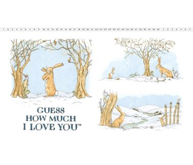 Guess How Much I Love You Rabbit Panel