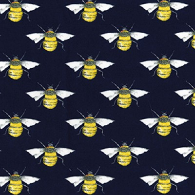 Bee Rose and Hubble Cotton Fabric