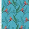 Birds of Paradise Flower Cotton Fabric By Sarah Payne