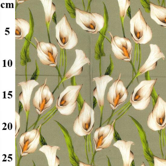 Primula Digital Cotton Lawn Dress Fabric