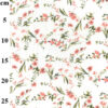 Dilly Floral Linen Mix Dress Fabric