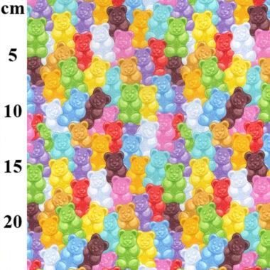 Gummy Bear John Louden Cotton Fabric