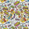 Wham Slap Bang John Louden Cotton Print Fabric