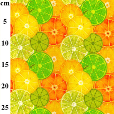 Citrus John Louden Cotton Print Fabric