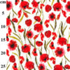 Scarlet Poppy Digital Jersey John Louden Fabric