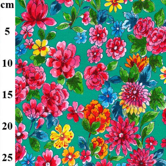 Azure Cotton Spandex Jersey John Louden Fabric