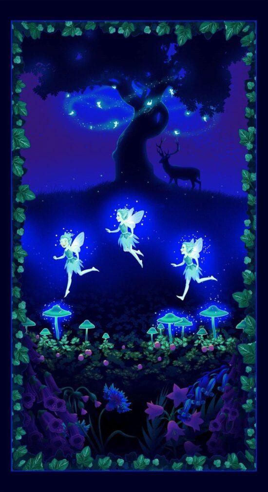 Summer Night Soiree Glow In The Dark Fairy Panel