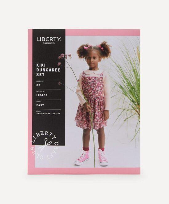 Liberty Kiki Dungaree Set Sewing Pattern Ages 3-14 Years