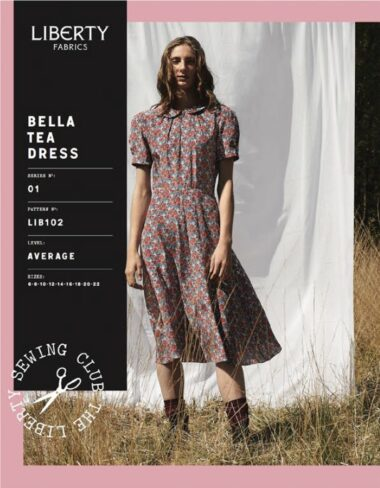 Libertys Bella Tea Dress Sewing Pattern