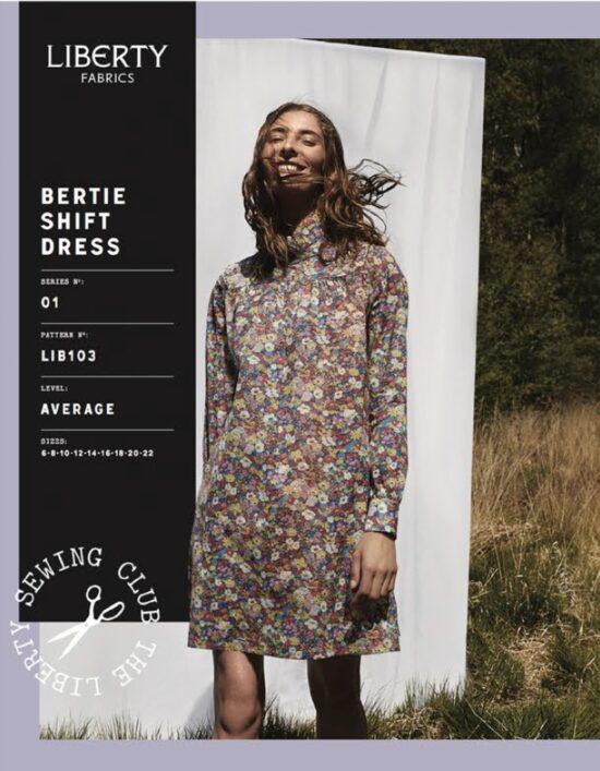 Libertys Bertie Shift Dress Sewing Pattern