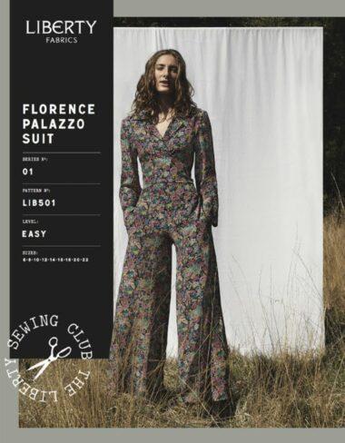 Libertys Florence Palazzo Suit Sewing Pattern
