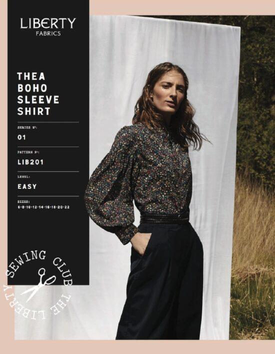Libertys Theo Boho Sleeve Shirt Sewing Pattern
