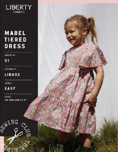 Libertys Mable Tiered Dress Sewing Pattern